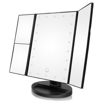 Τριπλός Καθρέφτης με Μεγέθυνση και Φωτισμό LED SK1706